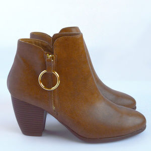 2bd137bbd9a2 Shoes - Dream Catcher - Tan O Ring Booties